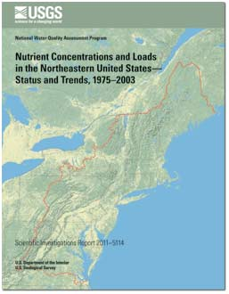NUTRIENT CONCENTRATIONS NORTHEASTERN US