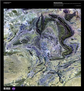 EARTH AS ART (EAA) MACDONNELL RANGES