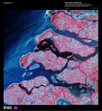 EARTH AS ART 2 DELTA REGION, NETHERLANDS
