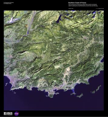 EARTH AS ART 2 SOUTHERN COAST OF FRANCE