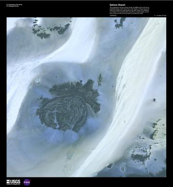 EARTH AS ART 2 (EAA) SAHARA DESERT