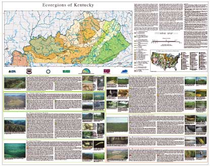 ECOREGIONS OF KENTUCKY, KY