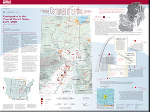EARTHQUAKES IN THE CENTRAL US, 1699-2010