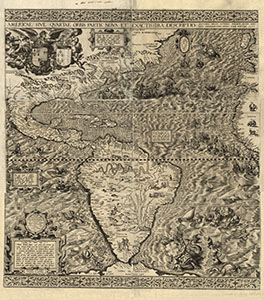 THE 1562 MAP OF AMERICA