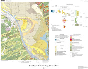 GEOLOGIC MAP OF THE NEEDLES, CA AND AZ