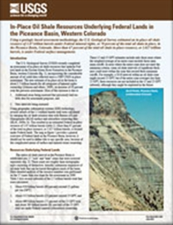 OIL SHALE RESOURCES PICEANCE BASIN CO