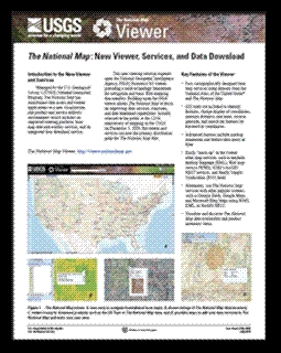 THE NATIONAL MAP NEW VIEWER SERVICES