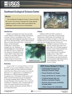 SOUTHEAST ECOLOGICAL SCIENCE CENTER
