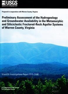 PRELIMINARY ASSESSMENT HYDROGEOLOGY VA