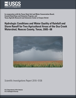 HYDROLOGIC CONDITIONS AND WATER QUALITY
