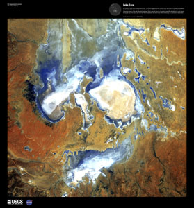 EARTH AS ART 3 (EAA) LAKE EYRE