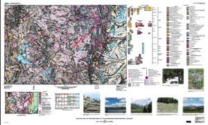 GEOLOGIC MAP OF ESTES PARK, CO