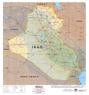 IRAQ AND SURROUNDING COUNTRIES