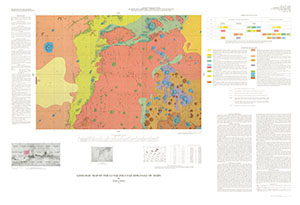GEOLOGIC MAP LUNAE PALUS QUADRANGLE MARS