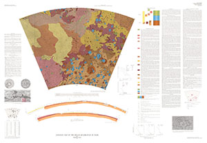GEOLOGIC MAP OF HELLAS QUADRANGLE MARS