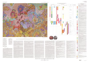 GEOLOGIC MAP WESTERN EQUATORIAL REG MARS