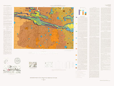 GEOLOGIC MAP OF COPRATES QUADRANGLE MARS