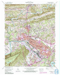 KINGSPORT, TN-VA HISTORICAL MAP GEOPDF 7