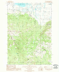 SLIDE MOUNTAIN, MT-ID HISTORICAL MAP GEO