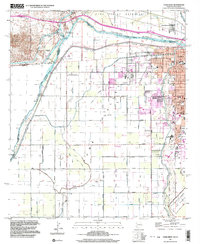 YUMA WEST, AZ-CA HISTORICAL MAP GEOPDF 7