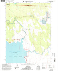 SAGEBRUSH BUTTE, CA-OR HISTORICAL MAP GE