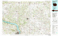 DUBUQUE NORTH, IA-WI-IL HISTORICAL MAP G