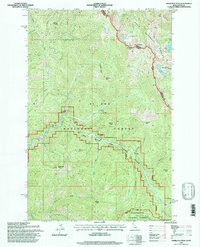 SHERLOCK PEAK, ID-MT HISTORICAL MAP GEOP
