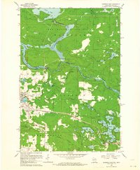 FLORENCE EAST, WI-MI HISTORICAL MAP GEOP