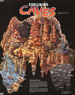 EXPLORING CAVES POSTER
