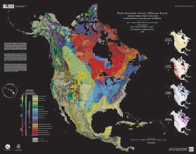NORTH AMERICA TAPESTRY OF TIME & TERRAIN