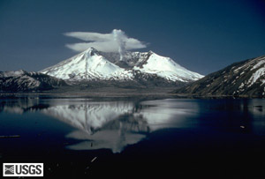 ERUPTIONS OF MOUNT ST HELENS: PAST, PRES