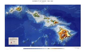 SEISMICITY OF HAWAII, 1962-1985
