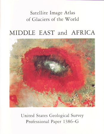 GLACIERS OF MIDDLE EAST; SAT IMAGE ATLAS