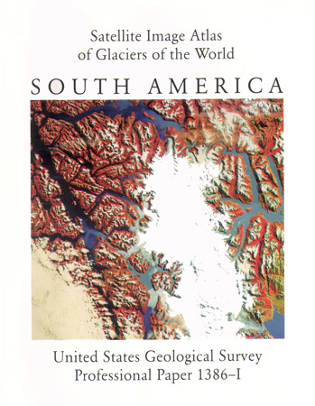 GLACIERS OF SOUTH AMERICA; SAT IMAGE