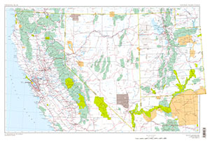 CENTRAL PACIFIC STATES -SHEETS 32-33, US
