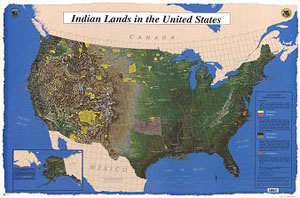 INDIAN LANDS IN THE UNITED STATES, US