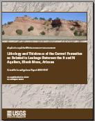 LITHOLOGY OF THE CARMEL FORMATION, AZ