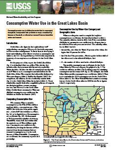 WATER USE IN GREAT LAKES BASIN