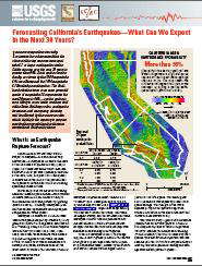 FORECASTING CALIFORNIA'S EARTHQUAKES, CA