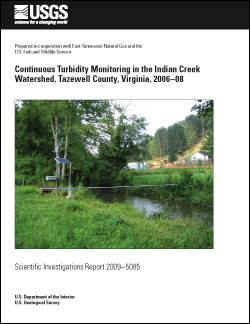 TURBIDITY MONITOR INDIAN CREEK, VA