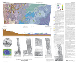 GEOLOGIC MAP WEST HELLAS PLANITIA, MARS